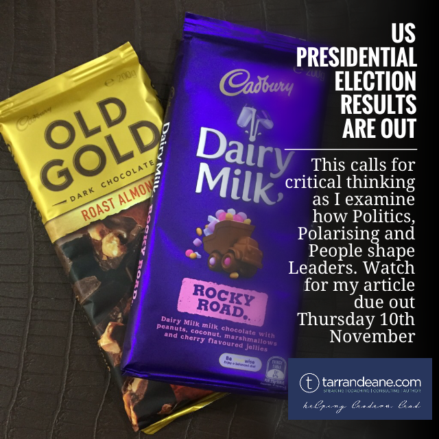 """Rocky Road - This is Where We Become Stronger, Learn More About Our Each Other & Navigate the Terrain Ahead,"" Tarran Deane Leadership Author on Donald Trump US President-Elect"
